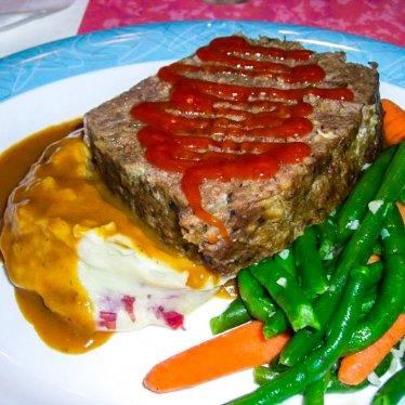 Mom's Meatloaf 50's Prime Time Cafe