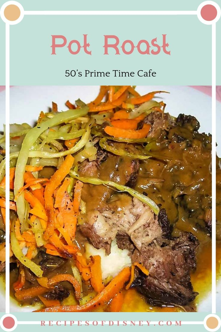 {50's Prime Time Cafe} Pot Roast