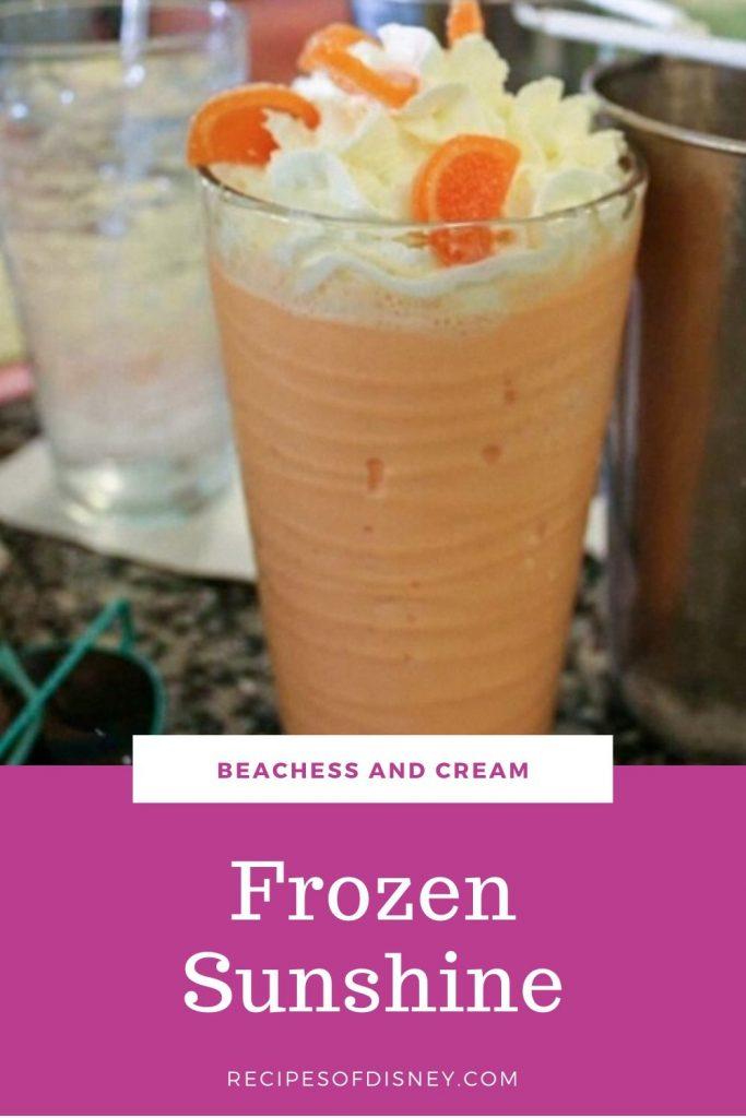 Frozen Sunshine Shake {Beaches and Cream}