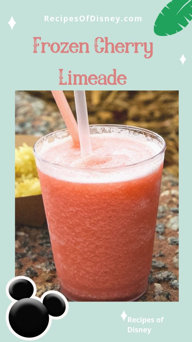Frozen Cherry Limeade {Food and Wine Festival}