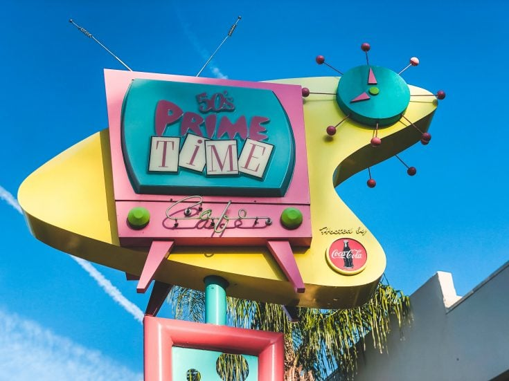 DISNEY'S HOLLYWOOD STUDIOS MENUS
