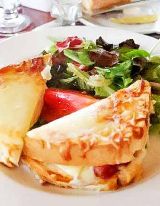 Croque Monsieur {Les Chefs de France}
