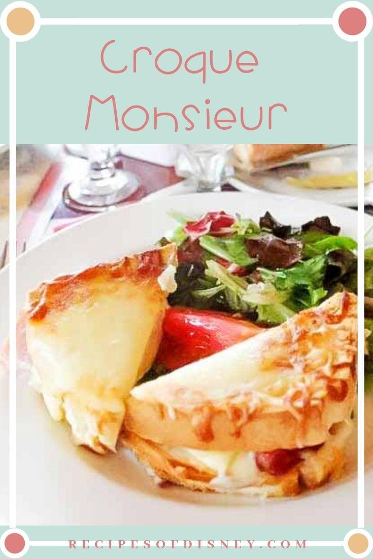 Croque Monsieur {Les Chefs de France}