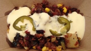 Nueske's® Pepper Bacon Hash {Food and Wine Festival 2014}
