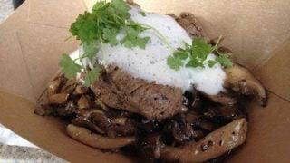 Wild Mushroom Beef Filet Mignon