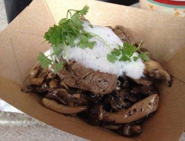 Wild Mushroom Beef Filet Mignon {2014 Food and Wine Festival}