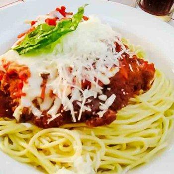 Chicken Parmigiana {Tony's Town Square Restaurant}