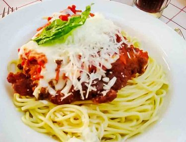 Chicken Parmigiana {Tony's Town Square Restaurant}