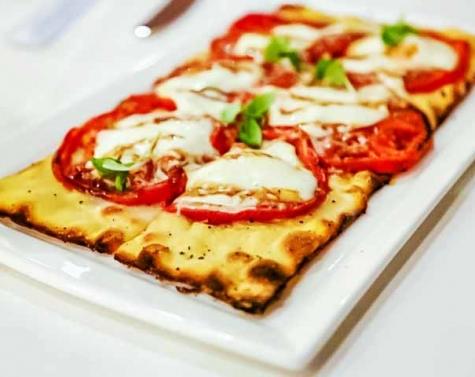 Oven-Dried Tomato Flatbread {California Grill}