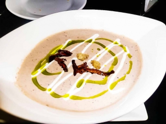 Smoky Portobello Mushroom Soup {Artist Point}