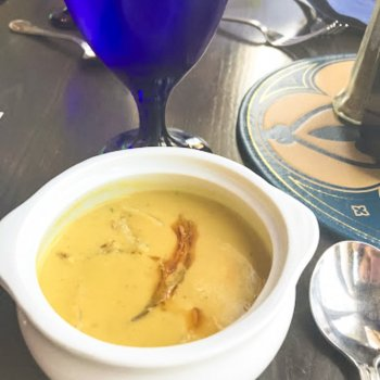 Corn and Crab Soup {Cinderella's Royal Table}