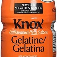Knox Original Unflavored Gelatin Dessert Mix (16 oz Jugs, Pack of 2)