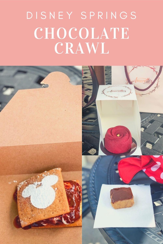 Disney Springs Chocolate Crawl {Fun Disney Chocolate Challenge}