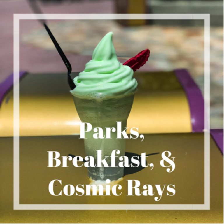Parks, Breakfast, & Cosmic Rays